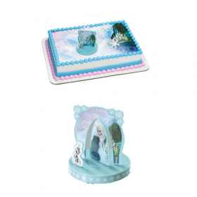 Disney Frozen Anna and Elsa DecoSet