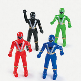 Plastic Superhero Characters
