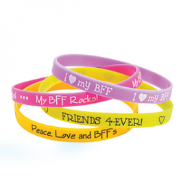 BFF Thin Silicone Bands