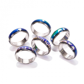 Assorted Pattern Mood Ring