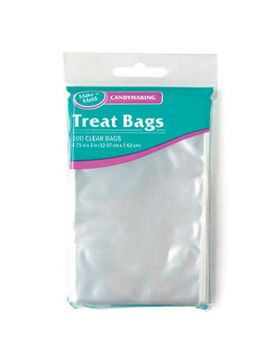 Mini Favor Candy Bags - Clear - Everyday