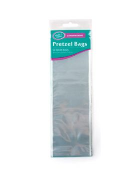 Pretzel Candy Bags - Clear