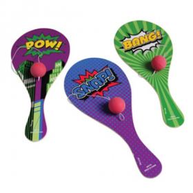 Superhero Paddle Balls