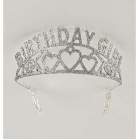 Birthday Girl  Glitter Tiara