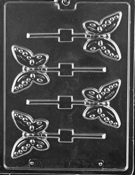 Butterfly Chocolate Lollipop Molds