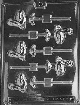 Stork Chocolate Lollipop Mold
