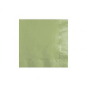 Leaf Green Beverage Napkins 50Ct