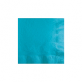Carribbean Blue Beverage Napkins 50Ct