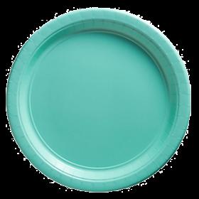 Robin's Egg Blue Paper Dinner Plates 20ct