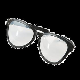 Black Jumbo Glasses