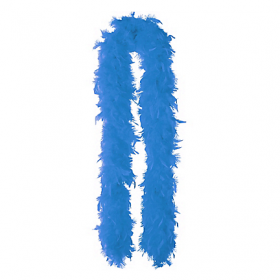 Feather Boa-Royal Blue