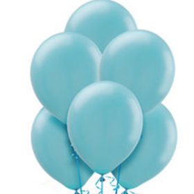 Caribbean Blue Balloons 72ct