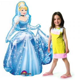 Disney Cinderella Jumbo Airwalker Foil  Balloon