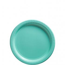 Robbin's Egg Blue Dessert Plates 20ct