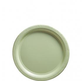 Leaf Green Dessert Plates 20ct