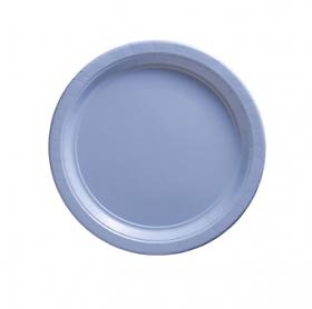Pastel Blue Dessert Plates 20ct