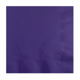 New Purple Lunch  Napkins 50Ct