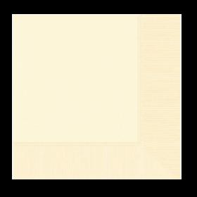 Vanilla Crème Lunch Napkins 50Ct
