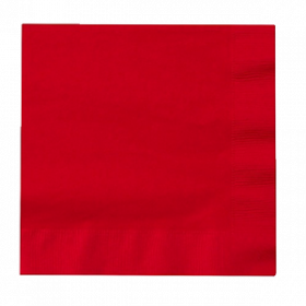 Apple Red Lunch Napkin 50Ct