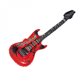 Inflatable Guitar- Red