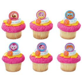 Lalaloopsy Friends Cupcake Rings 6pcs