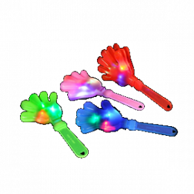 "11"" LIGHT-UP HAND CLAPPERS  (1doz)"