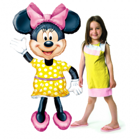 Minnie Mouse Jumbo Airwalker Foil  Balloon