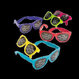 Mirrored Mortar Board Sunglasses