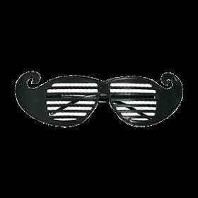 Mustache Shutter Shading Glasses