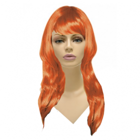 Glamorous Long Wig-Oarange