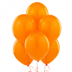 Orange Balloons 15ct
