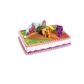 My Little Pony Applejack's Barn Cake Kit