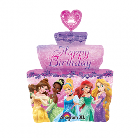 Disney Princess Cake Jumbo Foil  Balloon