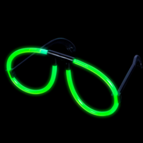 GREEN GLOW GLASSES  (1doz)