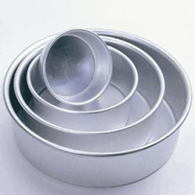 """7"""" x 3"""" Round Aluminum Pans (1PC) (Fat Daddio's)"""