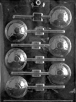 Soccer Ball Lollipop Candy Mold
