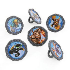 Skylanders Elements  Rings 6pcs