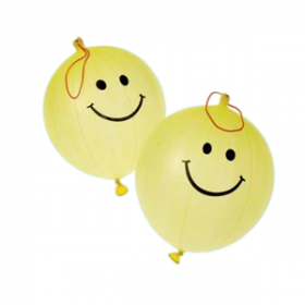 Smile Face Punch Balls (1dz)