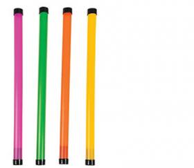 Plastic Neon Groan Tubes 1 doz