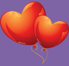 Valentine's Day 2016 Balloons