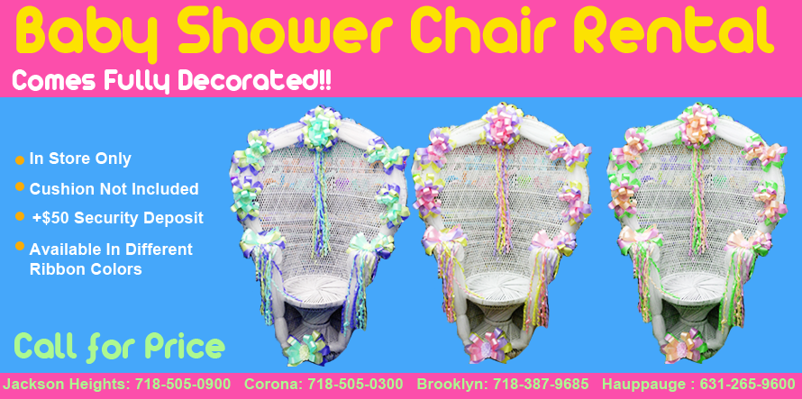 Baby Shower Chair Rental Party 2016