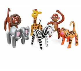 Inflatable Zoo Animal Assortment