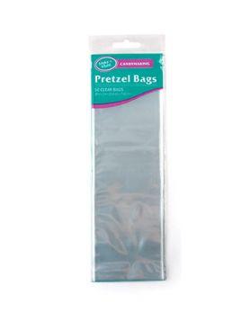 Pretzel Candy Bags - Clear