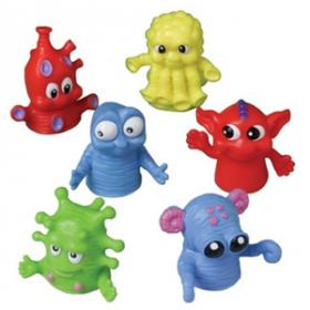Big Eyed Monster Finger Puppets