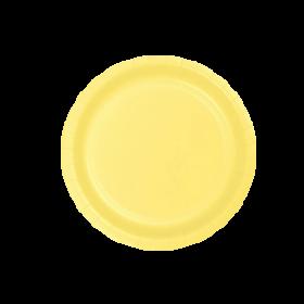 Light Yellow Dessert Plates 20ct