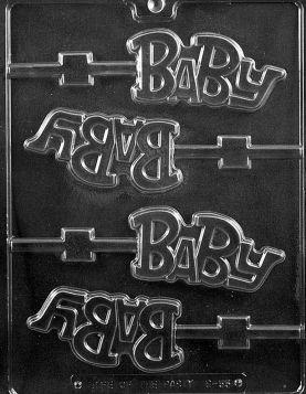 """Baby"" Chocolate Lollipop Molds"