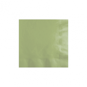 Leaf Green Beverage Napkins 50Ct