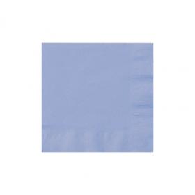 Pastel Blue Beverage Napkins 50Ct