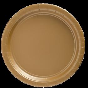 Gold Sparkle Paper Dinner Plates 20ct