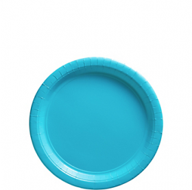 Carribbean Blue Dessert Plates 20ct
